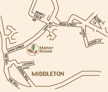 map of how to find Autumn Assisted Living at Manor House